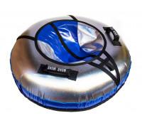 Санки надувные Тюбинг RT NEO со светодиодами синий, диаметр 105 см