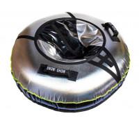 Санки надувные Тюбинг RT NEO со светодиодами чёрный, диаметр 105 см