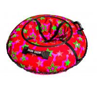 Санки надувные Тюбинг RT Snow Star Red + автокамера, диаметр 105 см