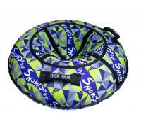 Санки надувные Тюбинг RT Лабиринт + автокамера, диаметр 118 см