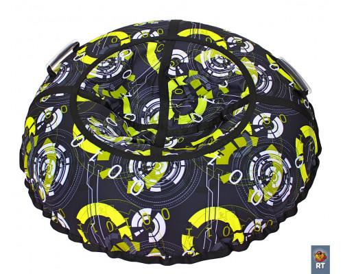 Санки надувные Тюбинг RT Галактика автокамера, диаметр 100 см
