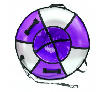 """Санки надувные Тюбинг RT """"ЭЛИТ"""" фиолетовый, диаметр 105 см"""