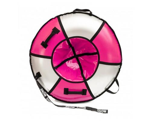 """Санки надувные Тюбинг RT """"ЭЛИТ"""" розовый, диаметр 105 см"""