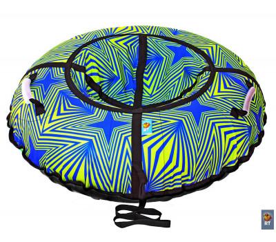Санки надувные Тюбинг RT Калейдоскоп автокамера, диаметр 100см