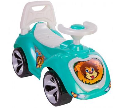 Каталка машинка Мишка (LAPA) цвет бирюзовый ОР758