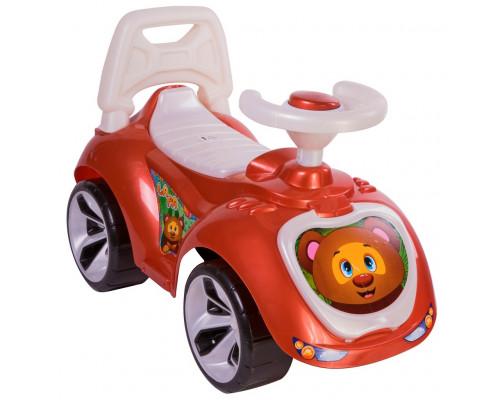 Каталка машинка Мишка (LAPA) цвет бронзовый ОР758