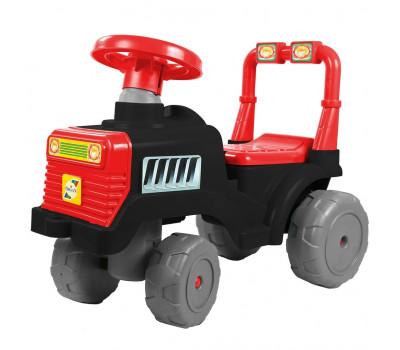 Каталка Трактор В черно-красный ОР931к