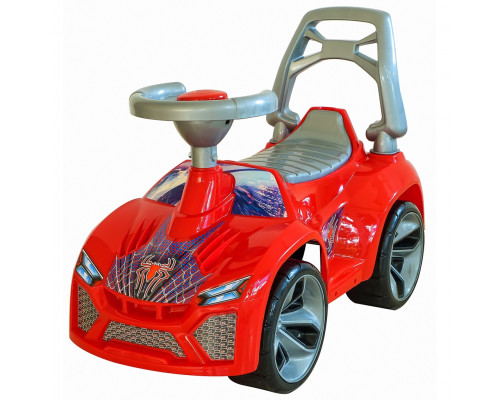 Каталка машинка Ламбо с клаксоном красный ОР021