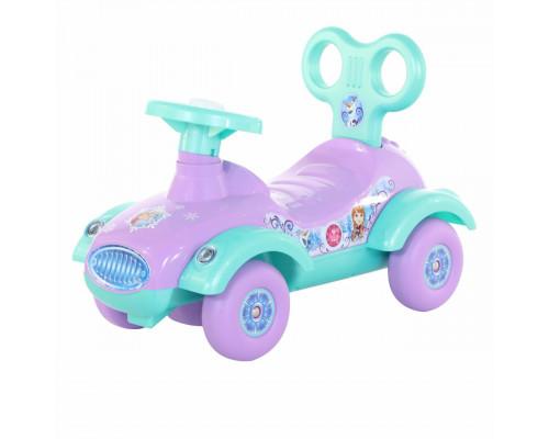 """Автомобиль-каталка MOLTO Disney """"Холодное сердце"""" (в лотке) 70678"""