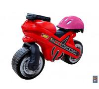 Каталка-мотоцикл MOTO MX со шлемом 46765