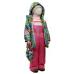 Комплект TOMAS Лилия весна-осень, зеленый и розовый