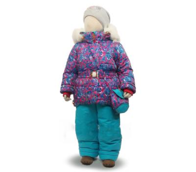 Зимний комплект Tomas, модель Кристина бирюза