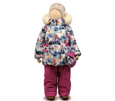 Зимний комплект Tomas, модель Лиза-М сиреневый