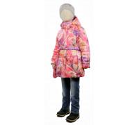 Куртка весна-осень TOMAS Розы, сиреневый
