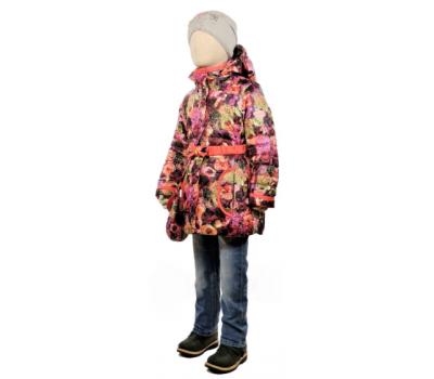 Куртка весна-осень TOMAS Розы, бордо-розовый