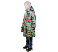 Пальто весна-осень TOMAS Цветок, зеленый-розовый