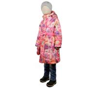 Пальто весна-осень TOMAS Цветок, розовый