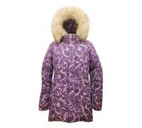 """Зимняя куртка TOMAS """"Виктория"""" сирень-С р.122-152"""