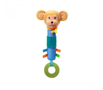 Игрушка-пищалка обезьянка ERIC BabyOno