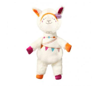 Игрушка мягкая Lama RITA с погремушкой BabyOno