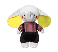 Мягкая игрушка с погремушкой Слоник ANDY (21см.) BabyOno