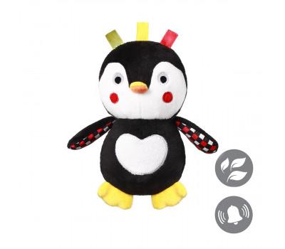 Мягкая игрушка с погремушкой пингвиненок CONNOR (16см.) BabyOno