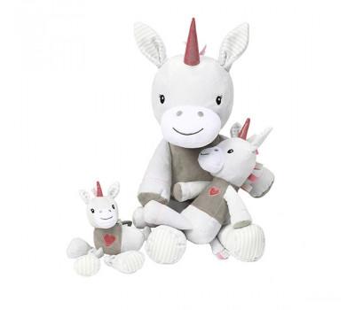 Велюровая игрушка единорог BabyOno LUCKY 61 см