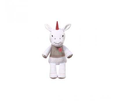 Велюровая игрушка единорог BabyOno LUCKY 34 см