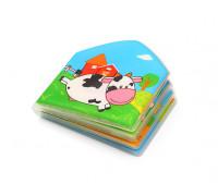Книжка для ванной COUNTRY ANIMALS с пищалкой BabyOno