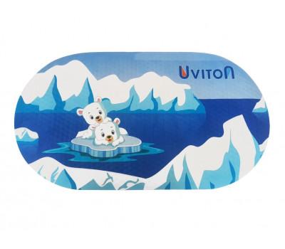 """Коврик для ванной """"Медвежата"""" Uviton 69*39см"""