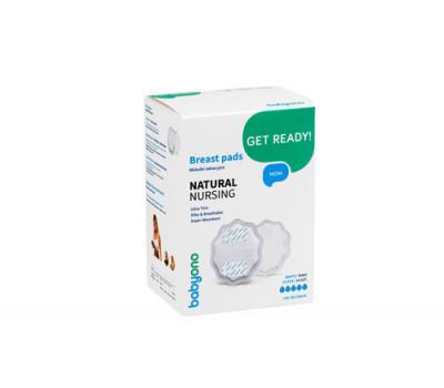 Вкладыши для груди Natural Nursing белые (24шт.), BabyOno