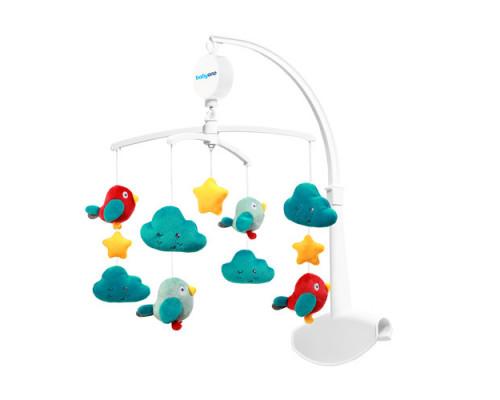 Универсальная карусель BabyOno Птички и Облачка