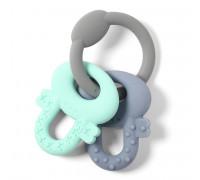 Прорезыватель серии ORTO ключики (мята, серый) BabyOno