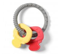 Прорезыватель серии ORTO ключики (желтый, красный) BabyOno
