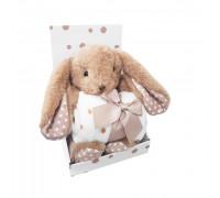 "Набор Плед + игрушка Uviton ""Bunny"" (шоколад)"
