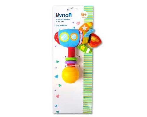 Игрушка-погремушка Uviton Technic (ракета)
