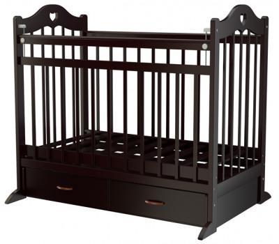 Детская кроватка Briciola-12 (маятник поперечный) 120x60 см