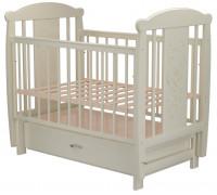 Детская кроватка Valle Bunny 04 маятник поперечный с ящиком
