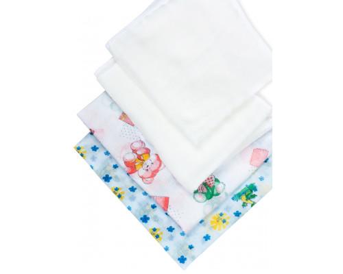 Набор пеленок для новорожденных ЧудоЧадо «Дыхание» (2+2 шт)