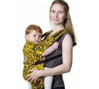 Слинг-рюкзак Чудо-Чадо «Бебимобиль Позитив»