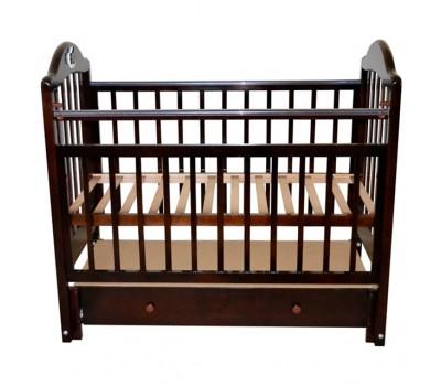Детская кроватка Briciola-10 (маятник продольный) 120x60 см