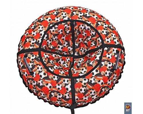 Санки надувные Тюбинг RT Футбольные мячи, диаметр 118 см