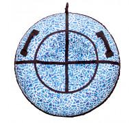 Санки надувные Тюбинг RT Осколки горного хрусталя, диаметр 105 см