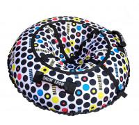 Санки надувные Тюбинг RT Ретро + автокамера, диаметр 105 см