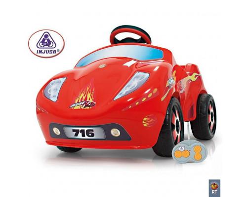 Электромобиль 6V CAR FIRE 7161 c пультом управления Injusa 7161