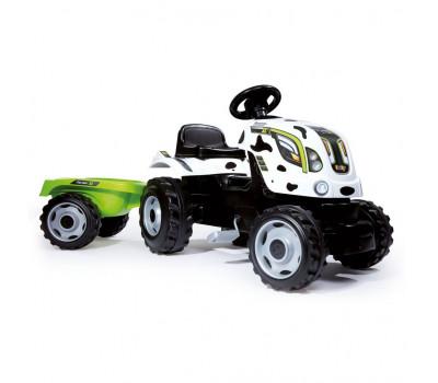 Трактор педальный XL с прицепом Smoby 710113