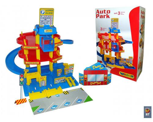 Паркинг 3-уровневый с автомобилями Wader 37893