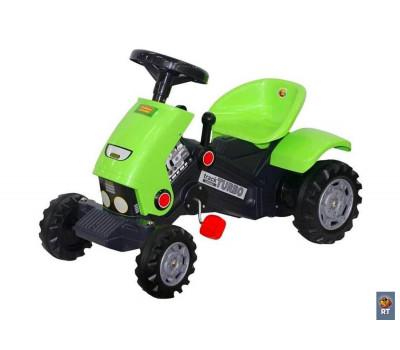 """Каталка-трактор с педалями """"Turbo""""-2 52735"""