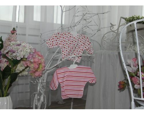 Распашонки с закрытыми рукавчиками BabyPollo (в комплекте 2шт.) 5-524